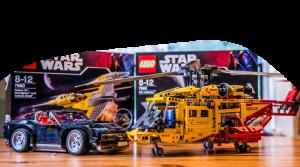 Lego-Technik Modelle beim Sammlertreff Iserlohn
