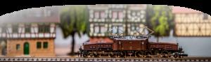 Modell-Lokomotive im Sammlertreff Iserlohn