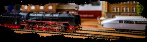 Modelleisenbahn in verschiedenen Zeitaltern beim Sammlertreff Iserlohn